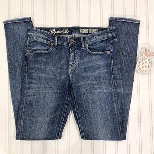 Madewell Skinny Skinny Jeans Size 27x32